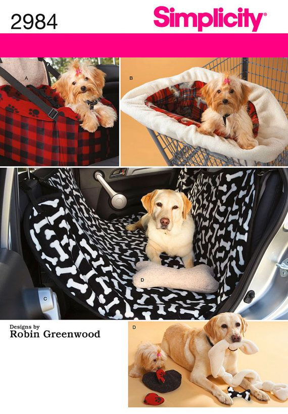 Dog Travel Accessories Car Seat Shopping Cart Cover Car Seat