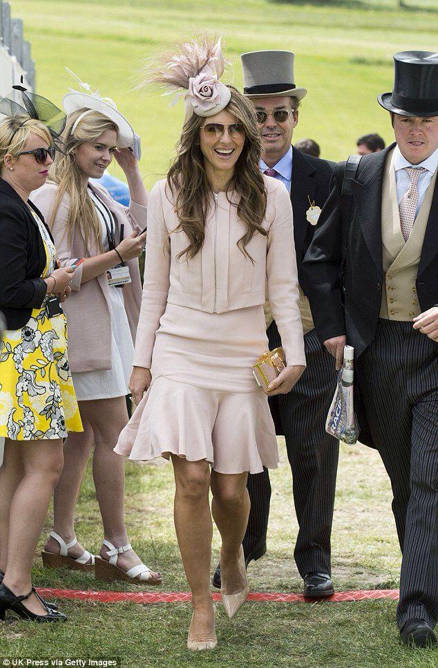 Elizabeth Hurley wears Beulah London