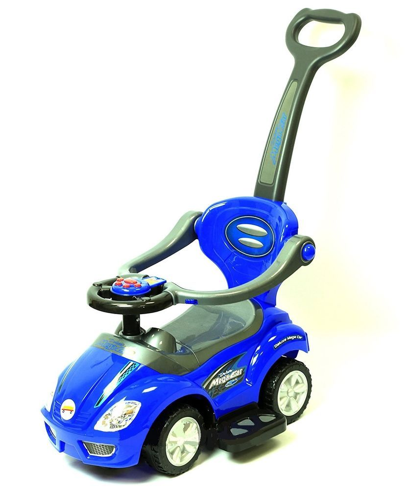 Deluxe Mega 3 in 1 Car Children's Toy Stroller & Walker