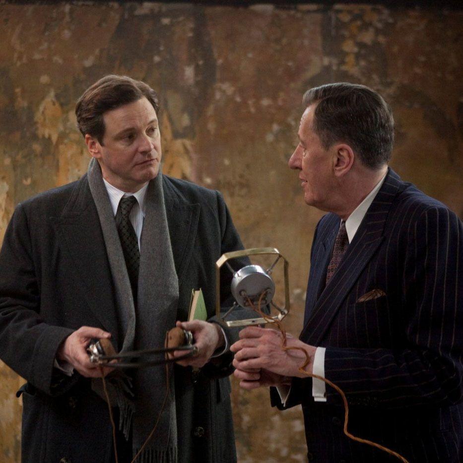 Colin Firth Y Geoffrey Rush En El Discurso Del Rey The King S Speech 2010 El Discurso Del Rey Colin Firth Peliculas
