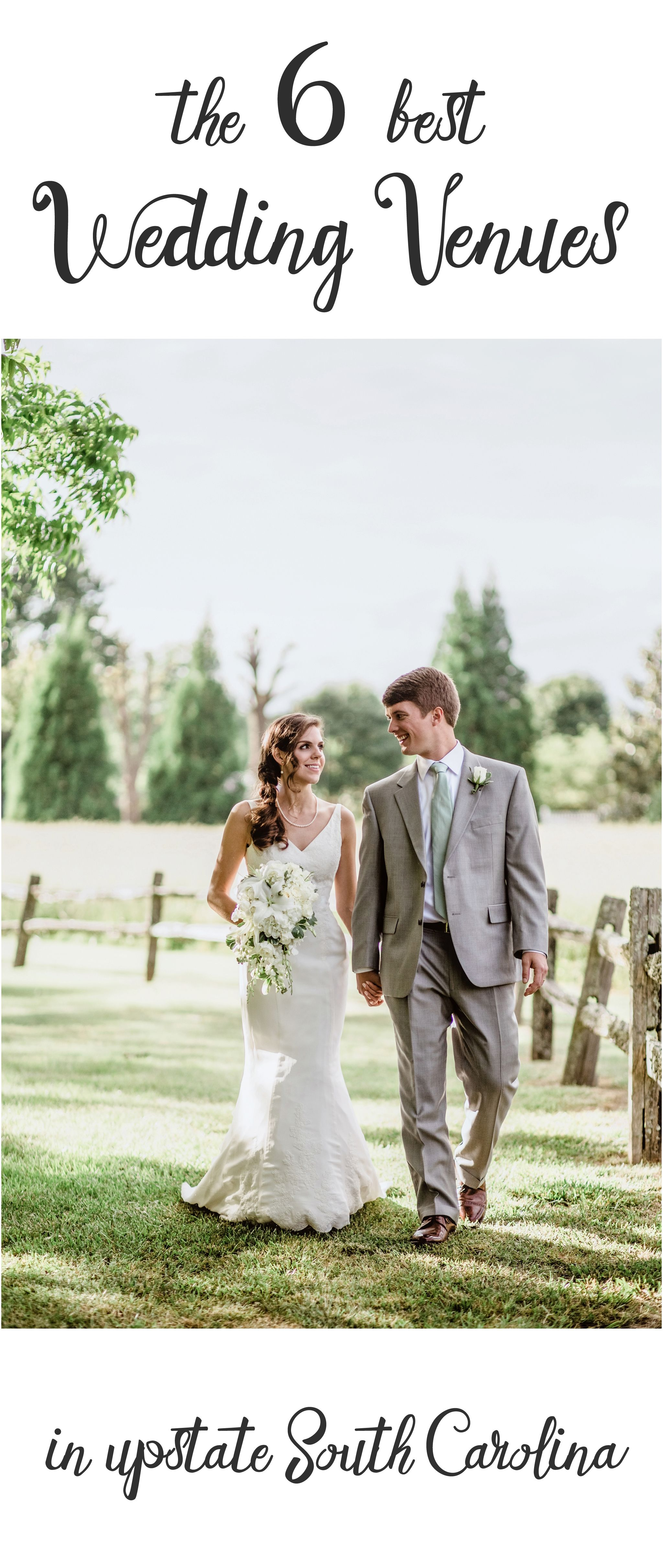 The Seven Best Wedding Venues In Upstate South Carolina Upstate Wedding Wedding Venues Best Wedding Venues