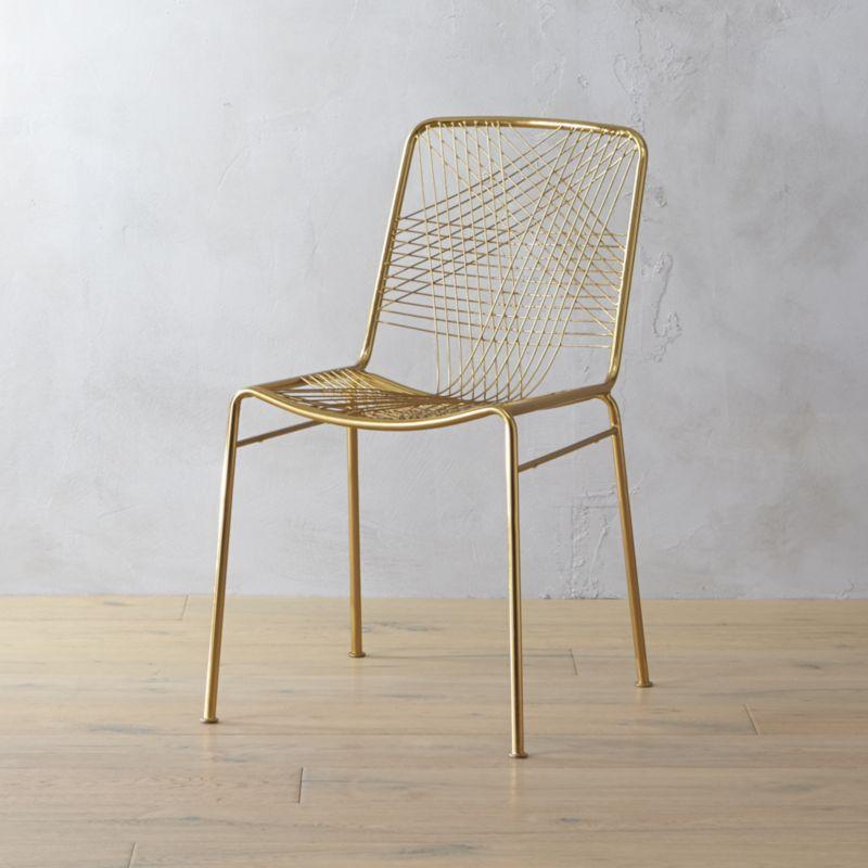 alpha brass chair – Modern Dining Room Chair