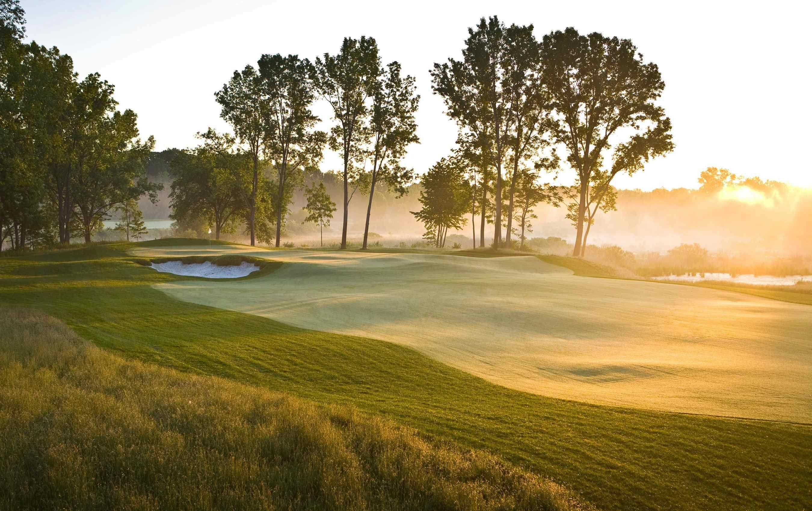 Harbor Shores Course Golf Courses Lake Michigan Beaches Michigan Beaches