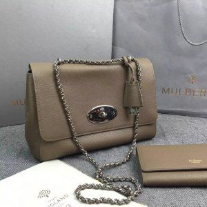 311e1b84ed51 2016 Fall Winter Mulberry Medium Lily Taupe Small Classic Grain ...