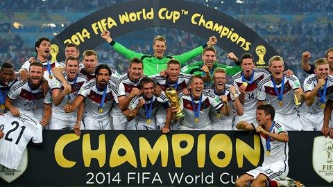 Champion of 2014 WC germany