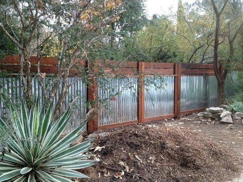 Best Yard Privacy Fence Corrugated Metal 45 New Ideas 400 x 300