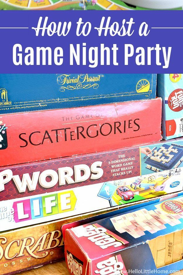 Host the Ultimate Game Night Party! (With images) Game