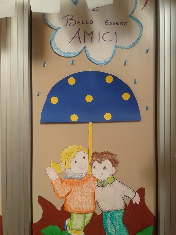 autunno sulla porta classroom door decorations and