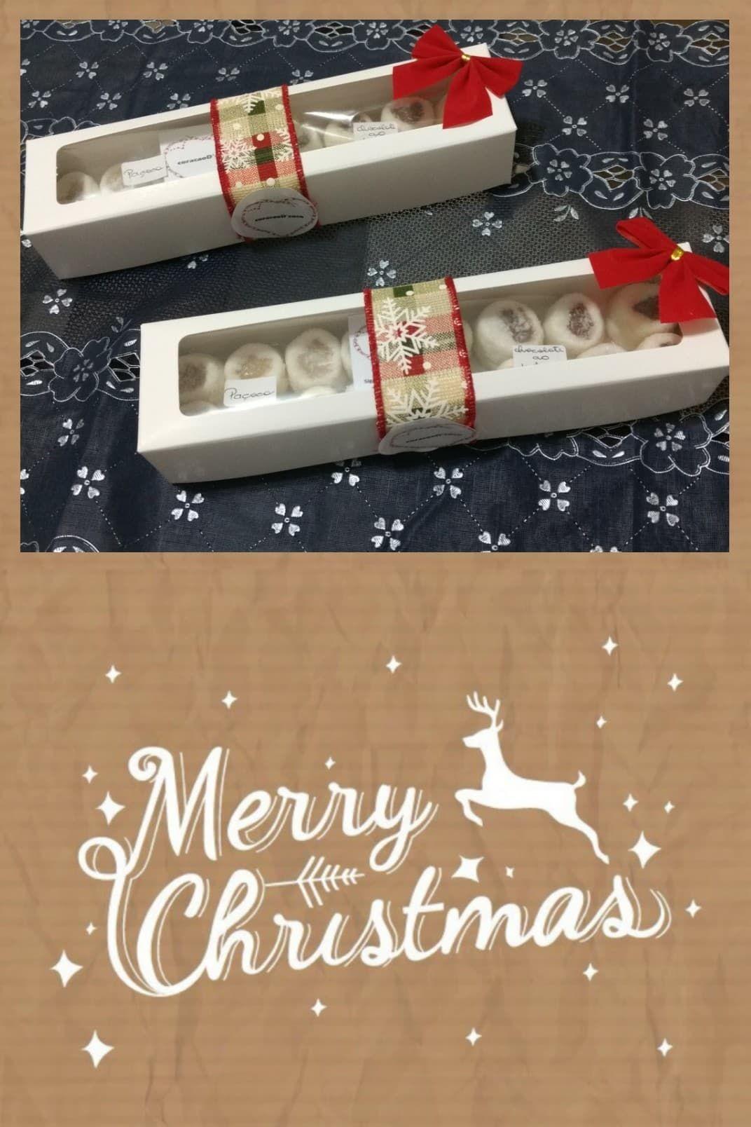 Embalagem Com Bala De Coco Para O Natal Uma Dica Para