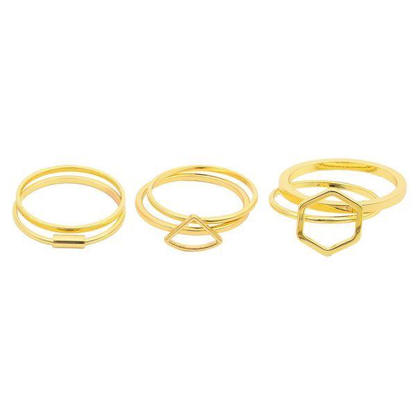 6 PCS Set Multi Rings