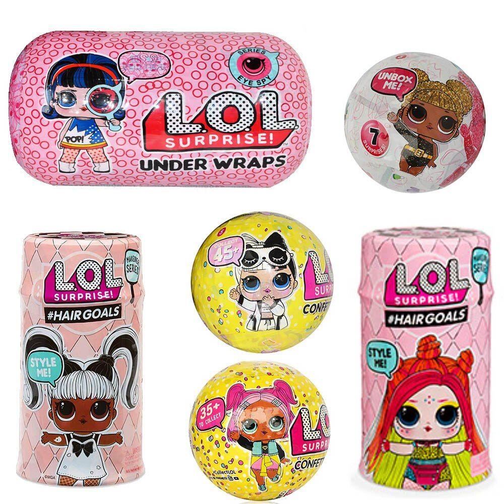Original Lol Surprise Dolls Diy Lol Dolls Ball With Genuine Box