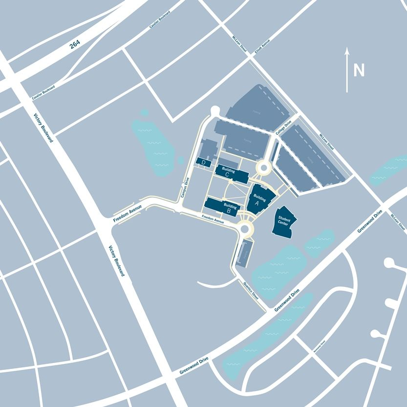 tcc portsmouth campus map Portsmouth Campus Each Building At The Portsmouth Campus Has A tcc portsmouth campus map