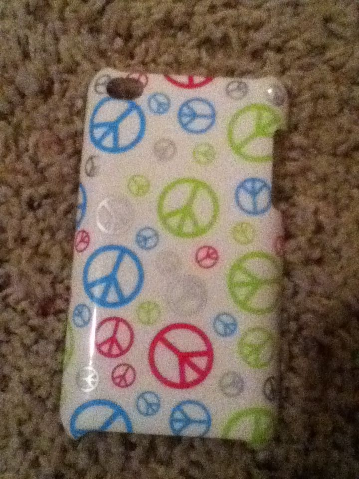 Peace Sign phone case......SOOOOOO CUTE
