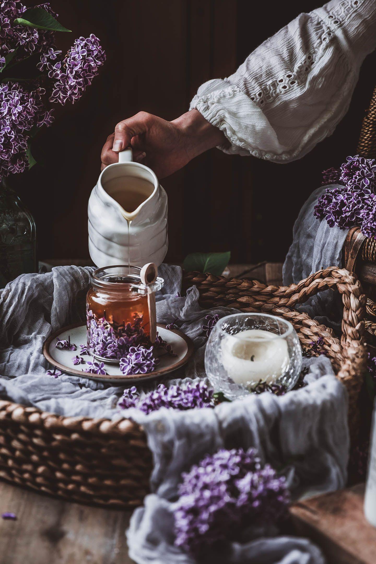 Lilac Honey Infusion Recipe Tea Recipes Tea Restaurant Food