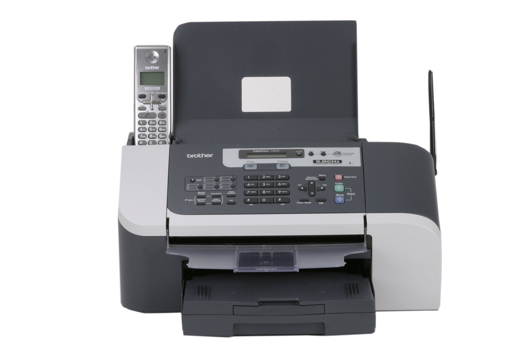 Brother IntelliFax1960c Color Inkjet Fax with 5.8 GHz