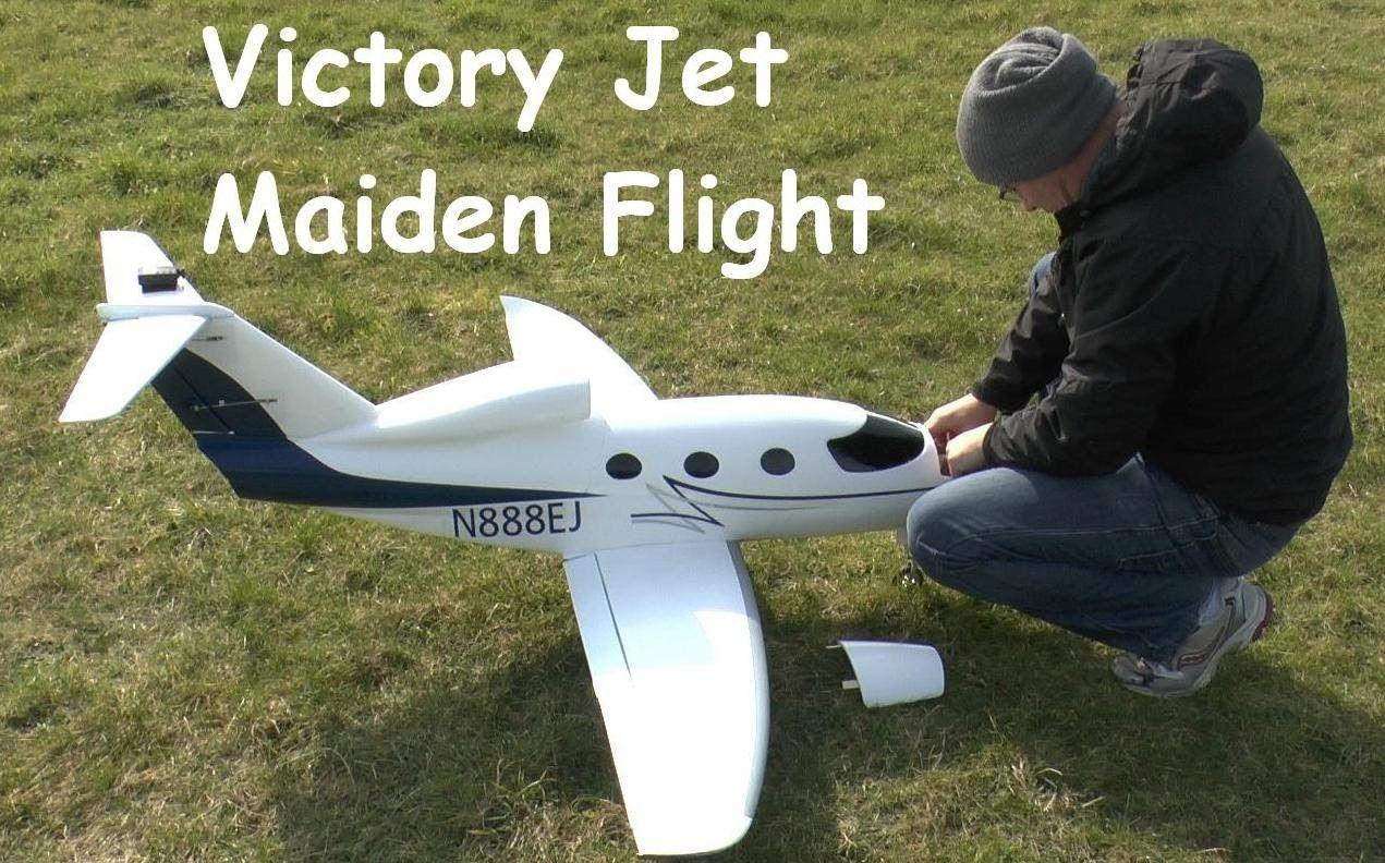 HUGE * HobbyKing Victory 90mm EDF jet Maiden Flight