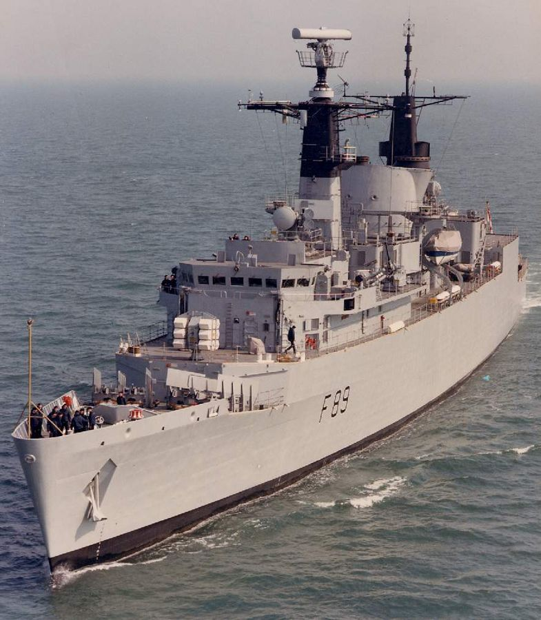 HMS Battleaxe Was A Type 22 Frigate Of The Royal Navy. She