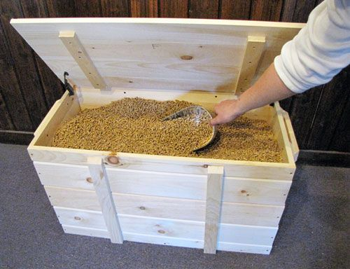 Storing Your Pellets In Style For The Home Wood