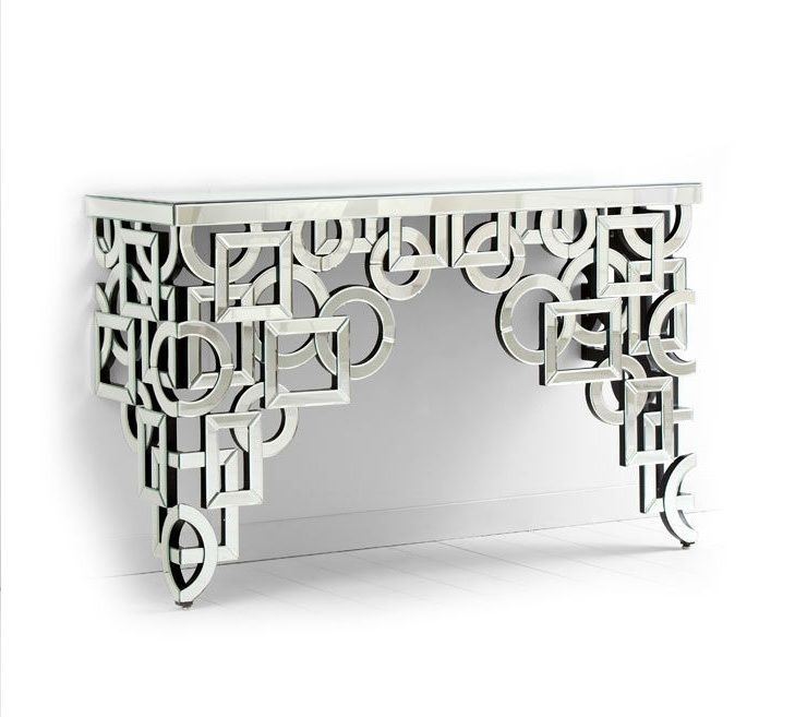 Volos Mirror Console Table, Sharing Luxury Designer Home Decor Inspirations  And Ideas For Beautiful Living Rooms, Dinning Rooms, Bedrooms