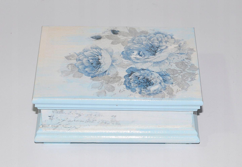 Szkatulka Decoupage Kuferek Na Bizuterie Prezent 7437259090 Oficjalne Archiwum Allegro Decoupage Art Decorative Boxes Decoupage