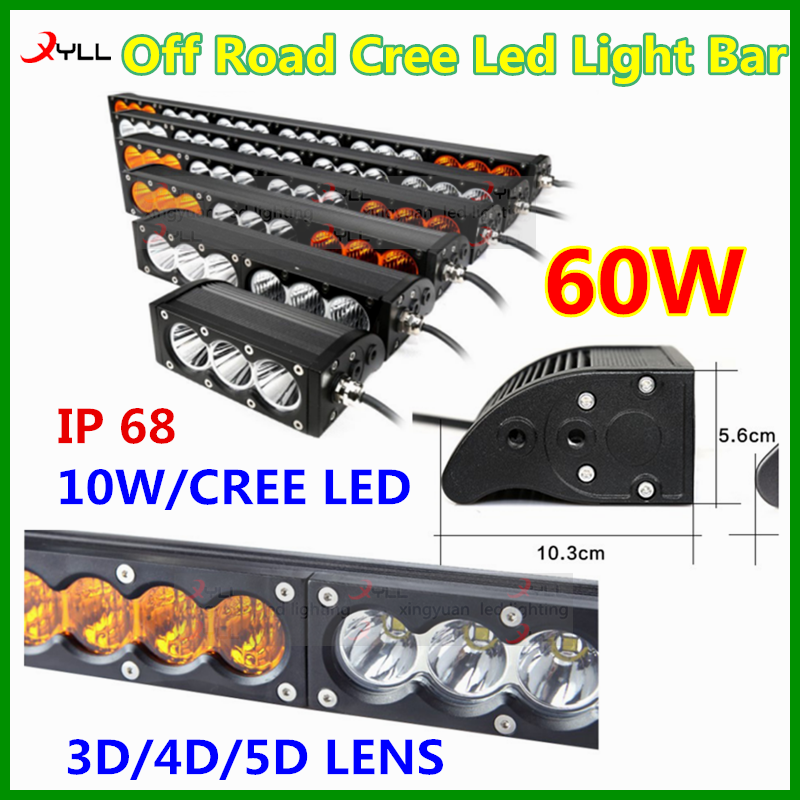 4x4 Accessories Off Road Amber Led Light Bar Combination Emergency Driving Lightbar 10 30v Dc Cree Led Light Bar Amber Led Light Bar Led Light Bars