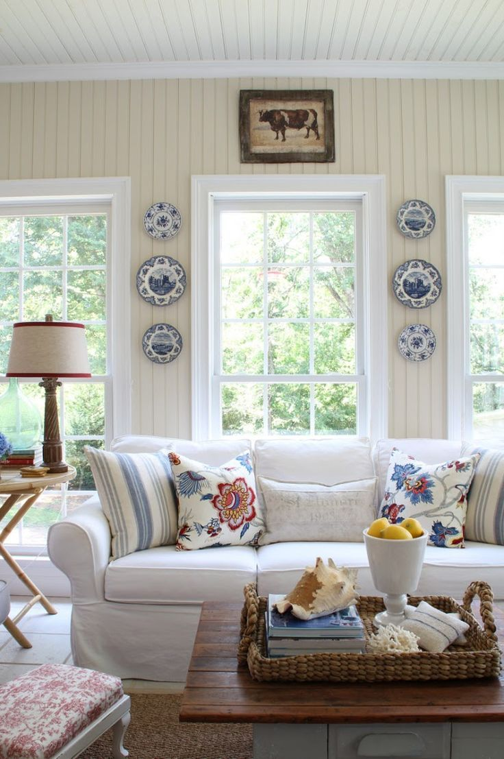 Elegant Nice Savvy Southern Style: Refreshed Sun Room