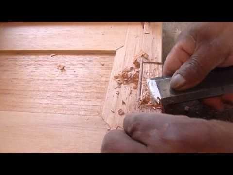 Carpintería - Puertas de 45º (molduras) Pt 2 - YouTube