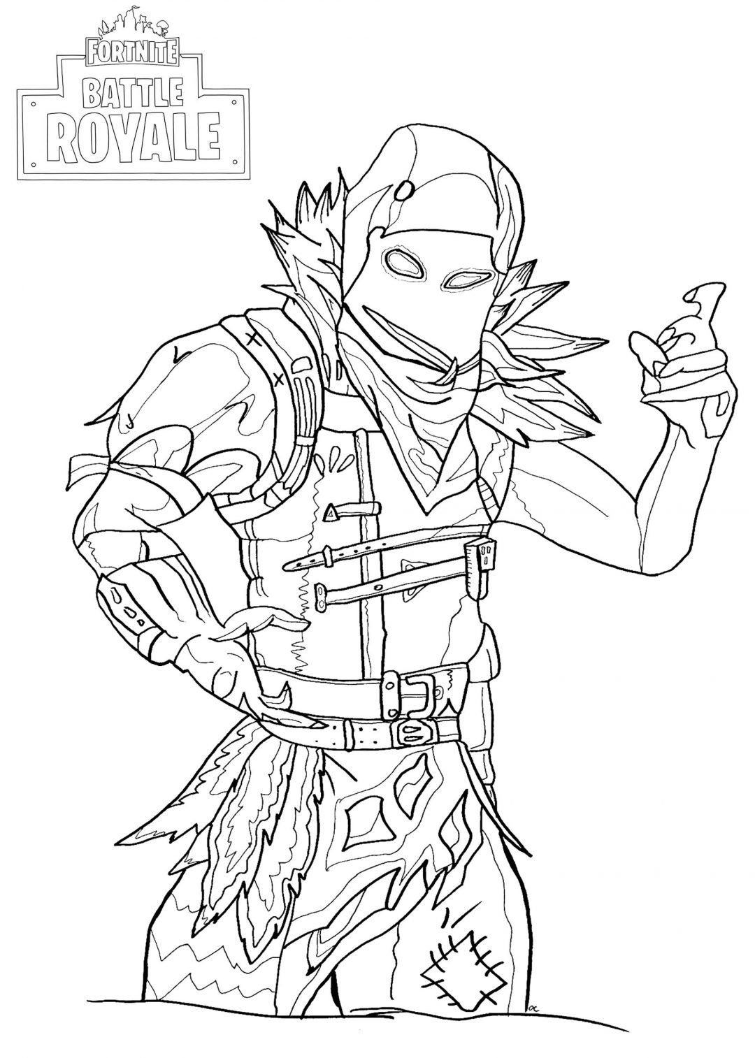 Fortnite Coloring Pages Coloring Pages Drawings Character