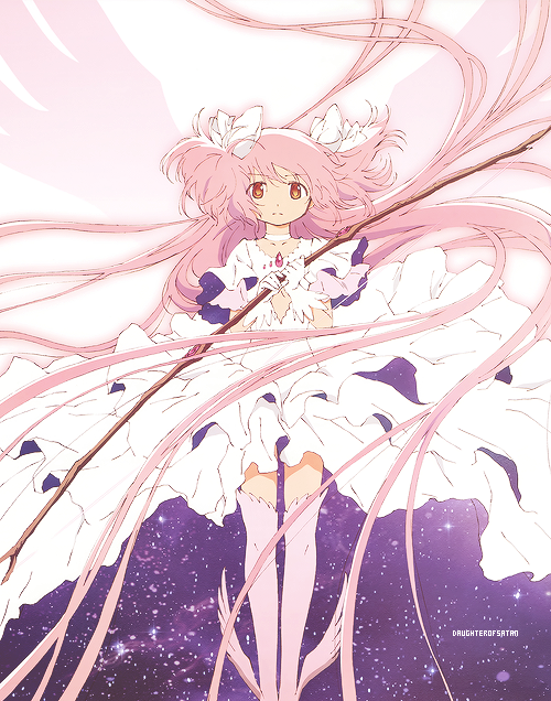Madoka In Final Goddess Form Puella Magi Magica