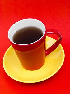 Brown And Red Photograph - Spanish Cup Of Coffee by Wim Lanclus