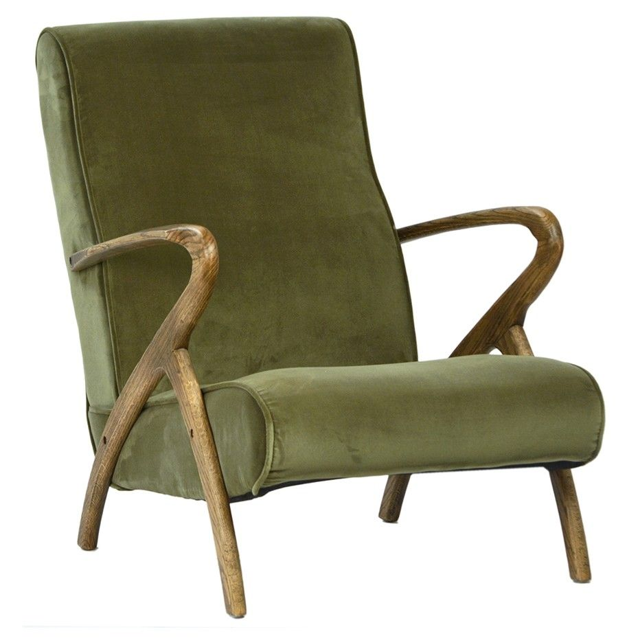 Dovetail Perry Occasional Chair Chairs Living Room Furniture