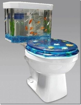 This would go so great in my bathroom! Most Bizarre yet