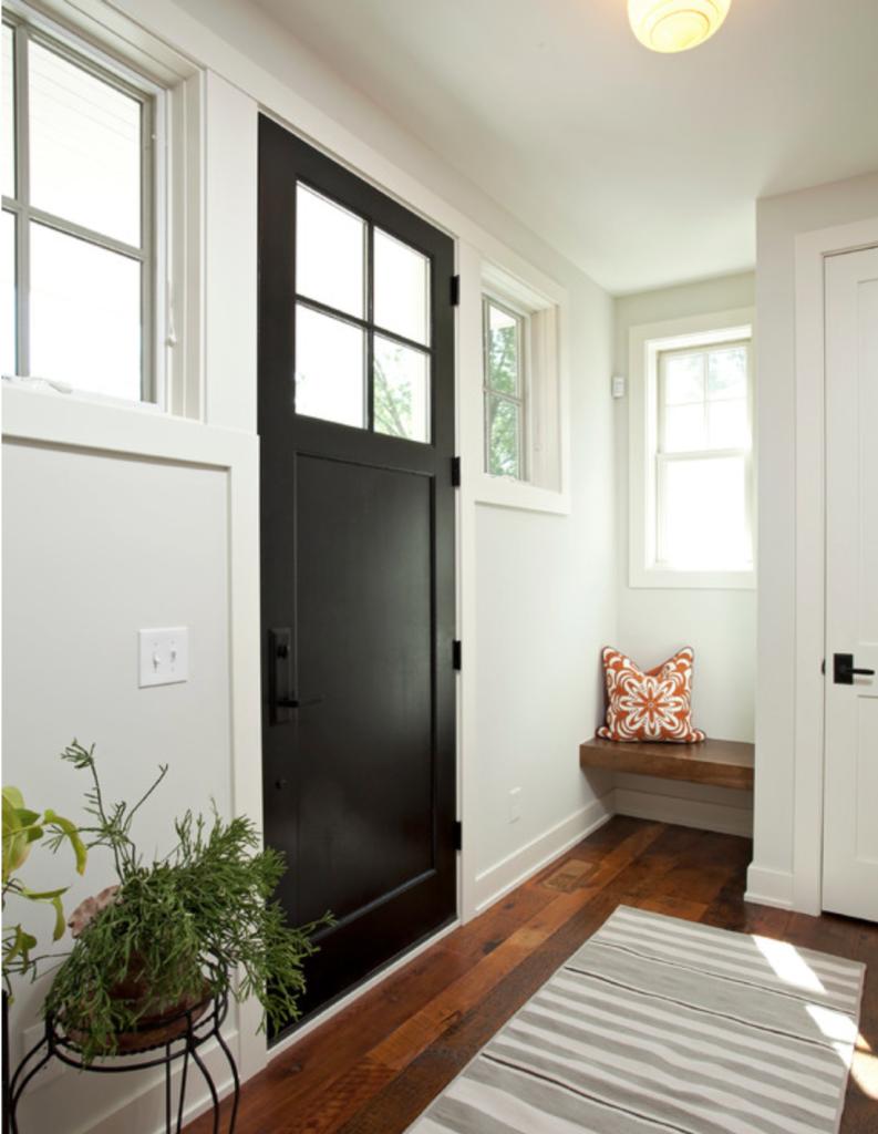 front door color black