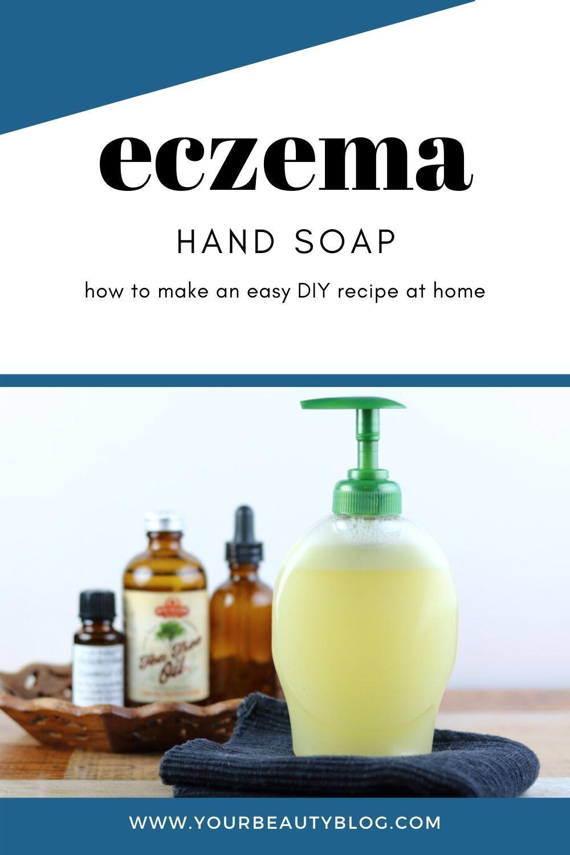DIY Liquid Hand Soap Recipe for Eczema in 2020 Soap