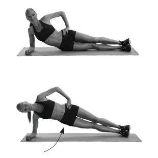 30 side hip raises | VS full body workout | Pinterest ...