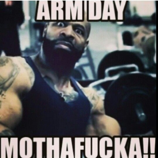 CT Fletcher Arm Day!!! | Workout memes, Gym humor, Workout humor