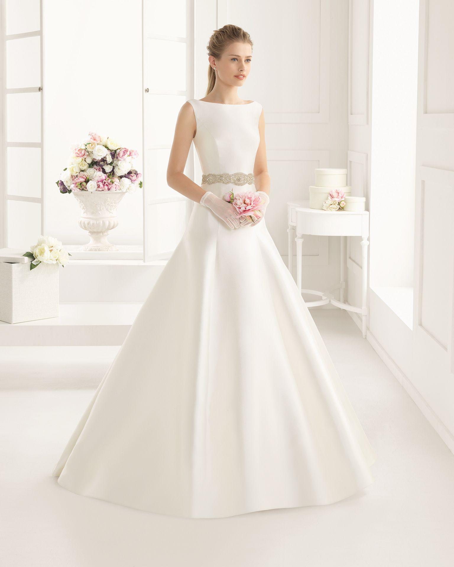 Vestidos de novia y vestidos de fiesta | Bridal gowns, Wedding dress ...