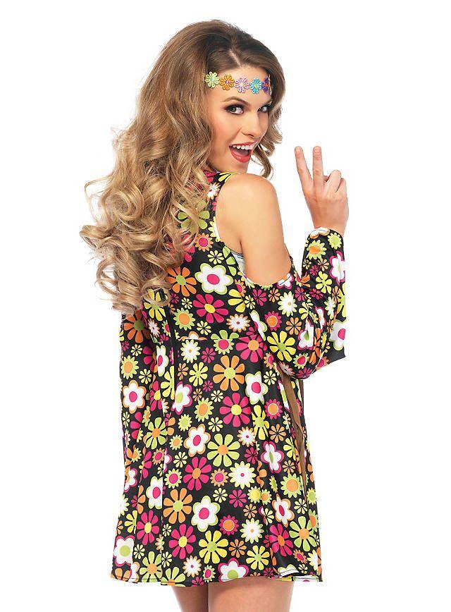 Flower Power Kleid | Dieter Thomas kuhn | Pinterest | Mottoparty ...