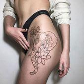 Photo of Neue Tattoo Bein Elefanten Oberschenkel 54 Ideen Neue Tattoo Bein Elefanten Ober…