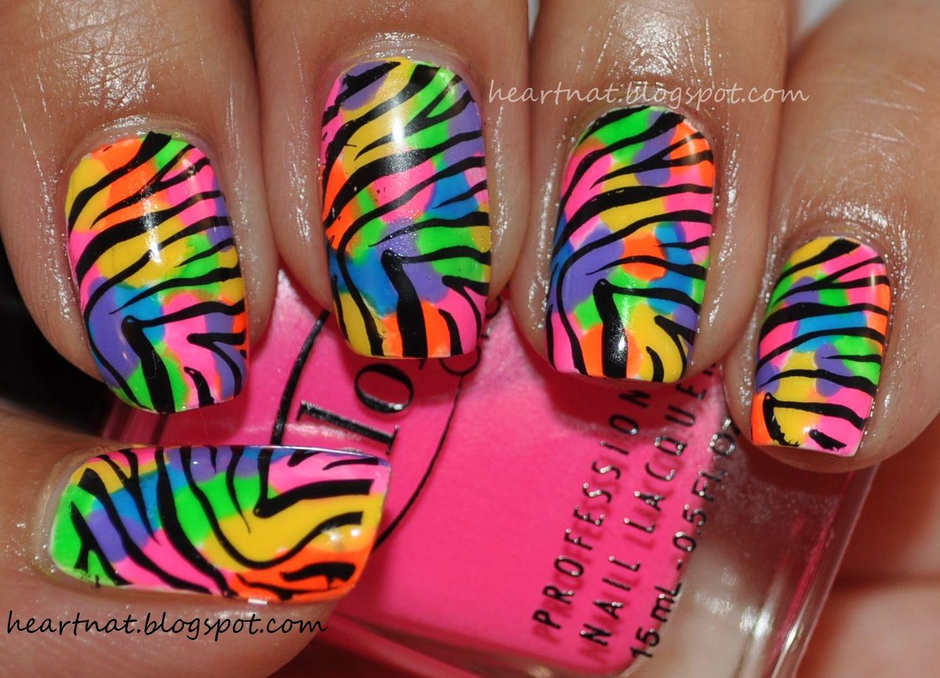 heartnat: Nicki Minaj Inspired Nails #4   Nail designs   Pinterest ...