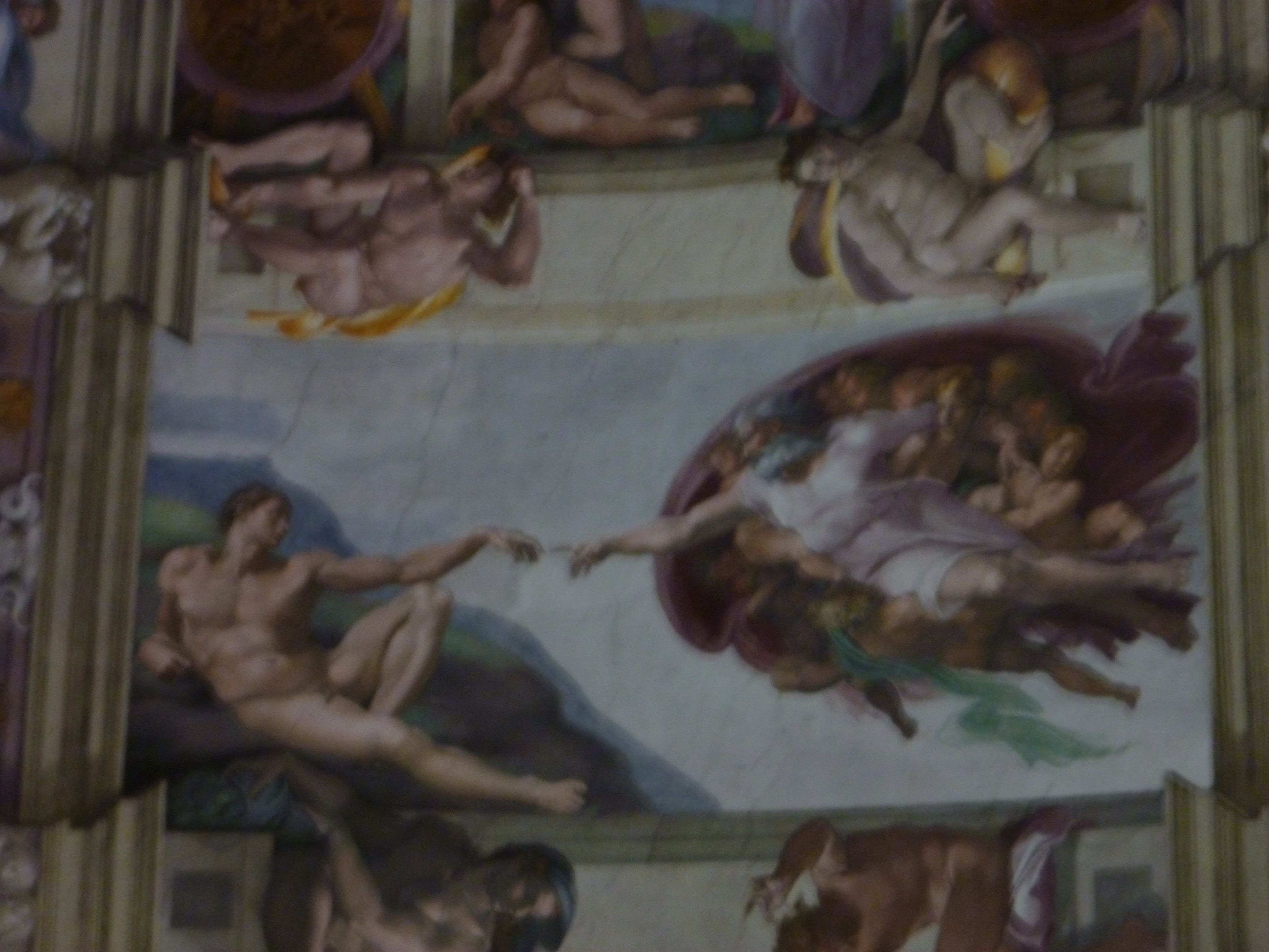 Inside the Sistine Chapel
