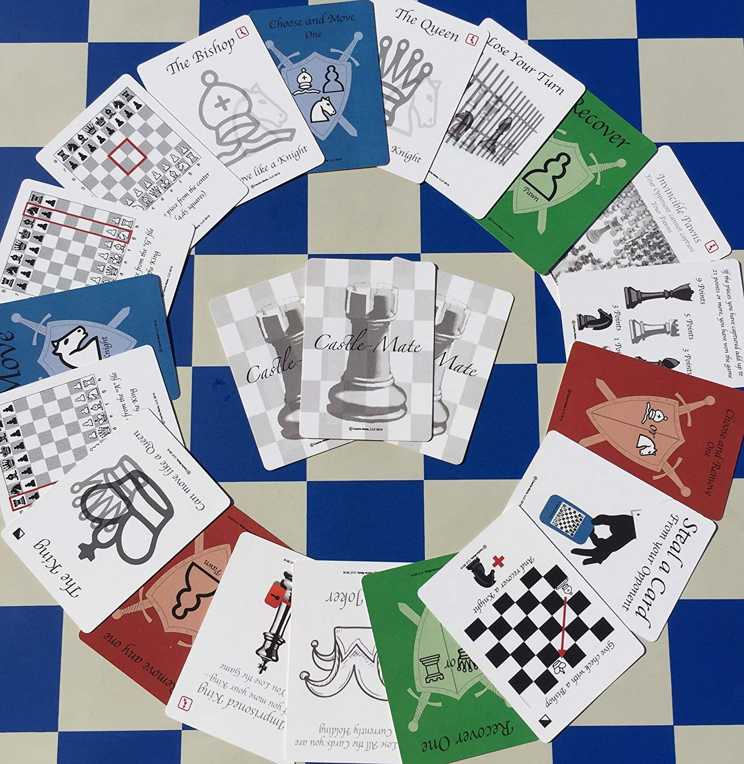 CastleMate Game Cards for Chess * Learn more testimonials
