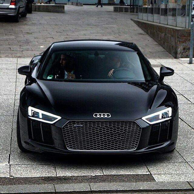 blacked out audi r8!⚫ via @vistale! what do you think of this audi