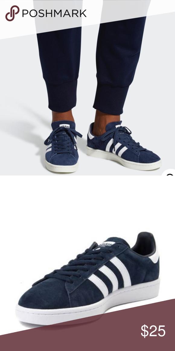congelador Acuario tortura  navy blue suede adidas campus shoes suede, women's sneakers, lightly worn,  clean adidas Shoes Sneakers | Adidas campus shoes, Blue suede, Shoes  sneakers adidas