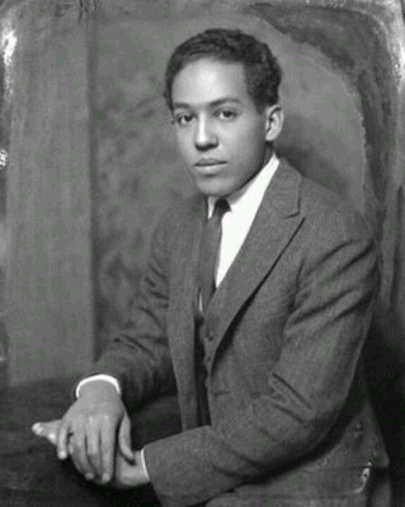 Young Langston Hughes Black History Black History Facts