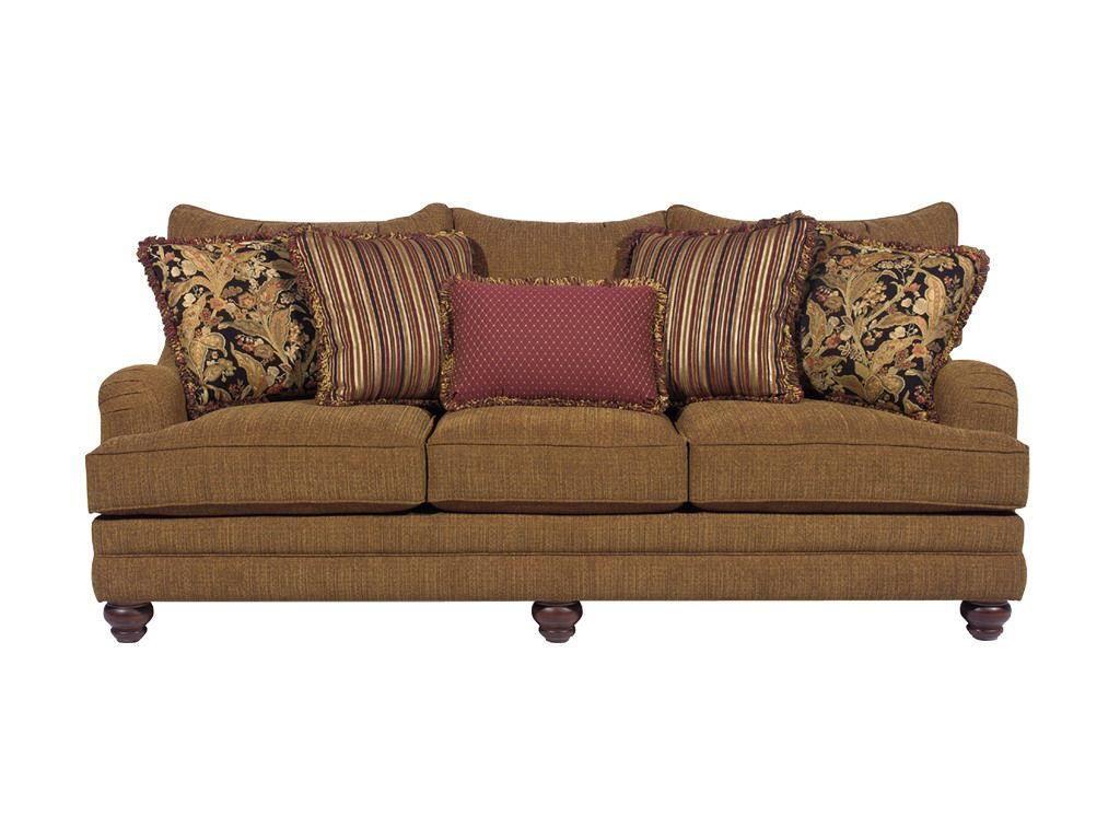 HickoryCraft Living Room Sofa 729050   Galleria Furniture   Oklahoma City,  Oklahoma
