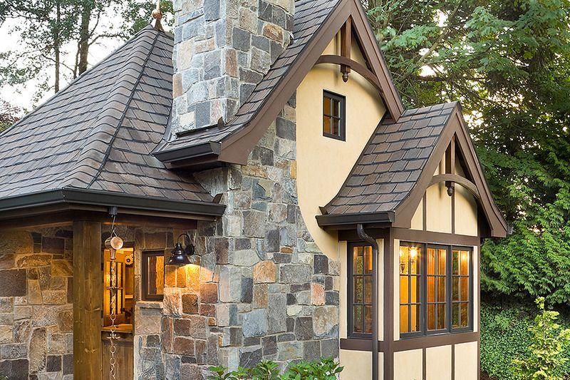 Tudor Style House Plan 1 Beds 1 00 Baths 300 Sq Ft Plan