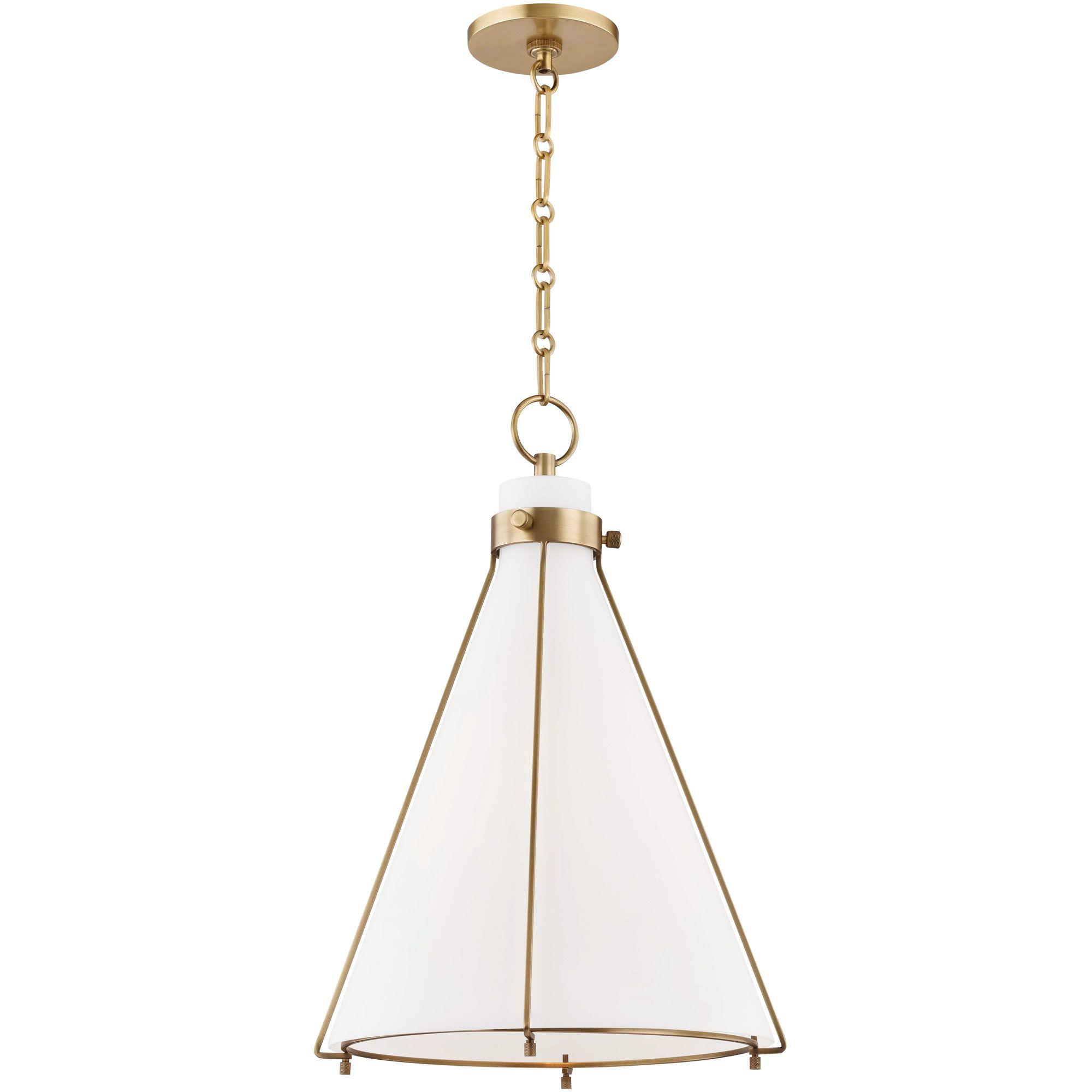 Eldridge Cone Pendant By Hudson Valley Lighting 7316 Ob In 2020 Cone Pendant Hudson Valley Lighting Ceiling Pendant Lights