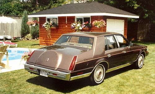 1987 Lincoln Continental | Wheels | Pinterest | Auto picture ...