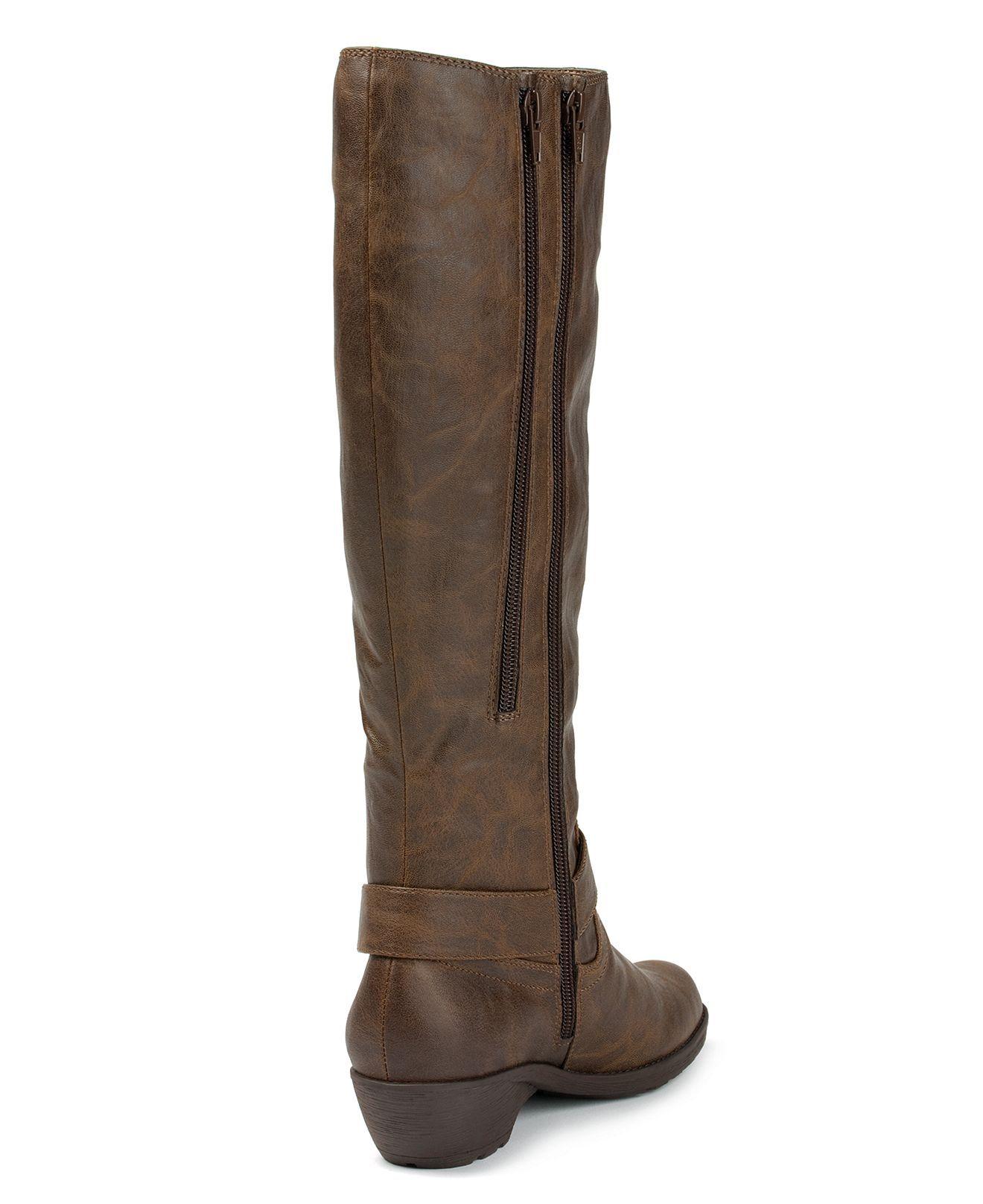 637c48a4f9 Aerosoles Mezzotint Wide Calf Boots - Wide Calf Boots - Shoes - Macy's